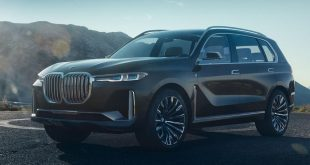 """BMW reveló el espacioso y estilizado """"Concepto X7 iPerformance"""""""