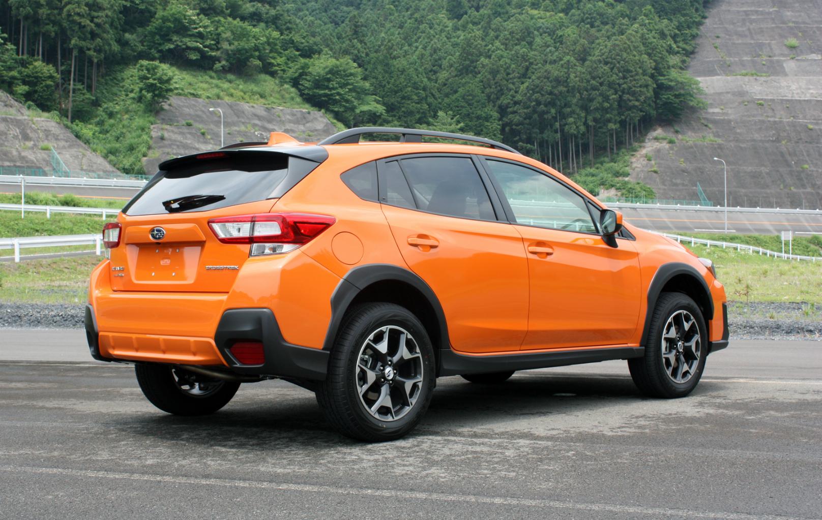 2018 Subaru-Crosstrek--Rear