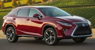 Lexus presentará  en Los Ángeles una versión de tres filas del RX
