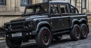 Conozca al Kahn Design Flying Huntsman 6 × 6